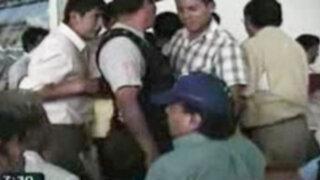Junín: pobladores casi linchan a funcionario durante presentación de maqueta