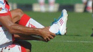 Impactantes imágenes de la fractura que sufrió un jugador de Unión de Santa Fe