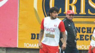 Juan Vargas inició trabajos con la selección en la Videna