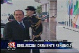 Crisis política en Italia marca el inicio del fin de Silvio Berlusconi