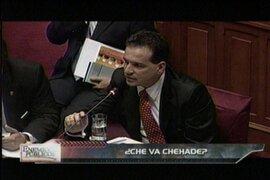 Congreso decide suspender a Omar Chehade por 120 días