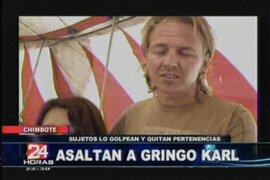 Gringo Karl y la Flor de Huaraz fueron asaltados en Chimbote