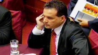 Omar Chehade llegó al Congreso y participará en Sesión del Pleno