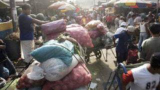 Comerciantes de La Parada serán reubicados el 2012 a Santa Anita