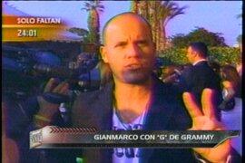 """La biografía de Gian Marco con """"G"""" de Grammy"""