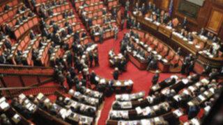 Italia: Senado aprobó cruciales reformas económicas que le exigía la UE