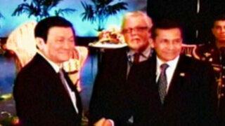 Presidente Ollanta Humala fue reconocido como nuevo líder de Apec