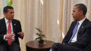 Presidente Humala se reunió Obama en plenaria de APEC