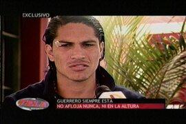 Paolo Guerrero cree en el triunfo ante Ecuador