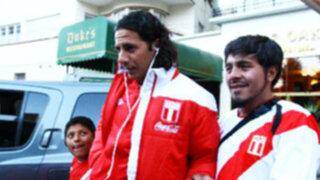 Selección Peruana llegó a Quito para jugar ante Ecuador
