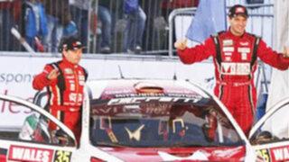 Nicolás Fuchs alcanzó un nuevo podio en Rally de Gran Bretaña