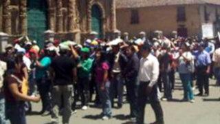 Paro indefinido contra el proyecto Conga se prepara en Cajamarca