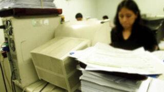 Regiones piden aprobar Ley del Servicio Civil para mejorar el Estado
