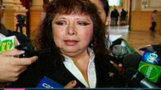Ica: Congresista Anicama fue operada de emergencia