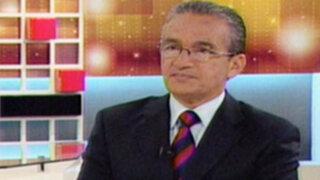Alejandro Aguinaga: Peruanos quieren Mesa de oposición en el Congreso
