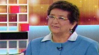Rosa Mavila: Chehade no respeta la política de transparencia del Gobierno