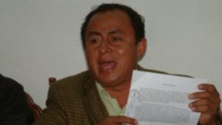Gregorio Santos se opone a que Banco Mundial participe en peritaje