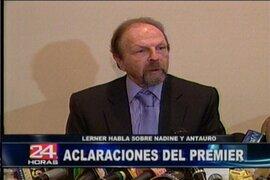 Salomón Lerner indicó que malinterpretaron sus palabras sobre Antauro Humala