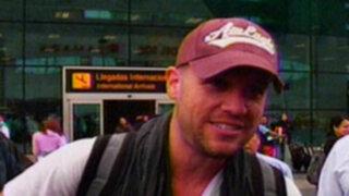 Gian Marco: Me siento satisfecho de regresar a mi país con un premio
