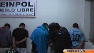 """Pueblo Libre: Policía captura a banda """"Los raqueteros de Mirones"""""""