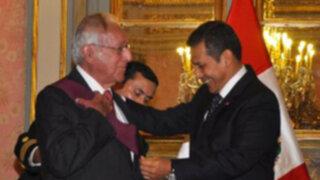 Luis Bedoya Reyes fue condecorado con la Orden del Sol