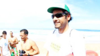 Bodyboarder peruano César Bauer se ubicó tercero en Mundial de España
