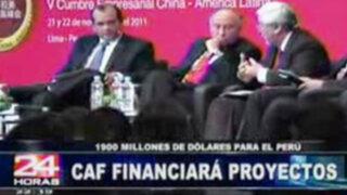 CAF está dispuesto a financiar proyectos de comercio en el Perú