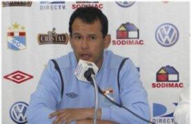 Ante los malos resultados la directiva de Cristal separó a Juan Reynoso