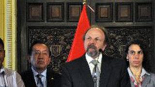 Ministro Lerner invoca a la reflexión a quienes encabezan protesta antiminera en Cajamarca