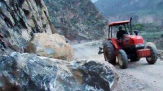 Vía Yurimaguas-Tarapoto sigue bloqueada por tercer día consecutivo