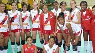 Perú ganó medalla de plata en el Campeonato Sudamericano Infantil de Vóley