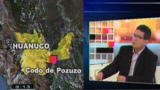 Jaime Antezana denuncia presencia del narcotráfico en Pozuzo