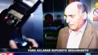 Congreso cita a Carlos Tapia para aclarar supuesto seguimiento