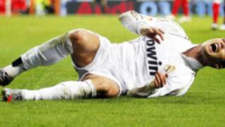 Cristiano Ronaldo está lesionado y se perdería el clásico ante el Barcelona