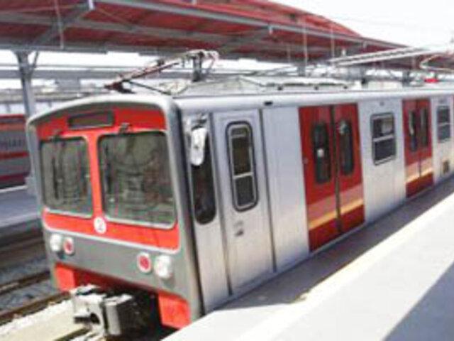 Tren eléctrico funcionaría recién en enero con pago de tarifa