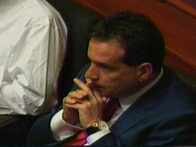 Comisión de Ética recomendó suspender por 120 días a Omar Chehade
