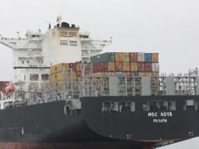 Policía del Callao decomisa más de 63,000 kilos de droga dentro de un barco