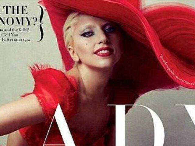 Lady Gaga posó desnuda para la revista