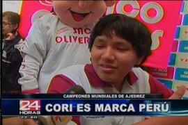 """Jorge Cori es """"Marca Perú"""""""