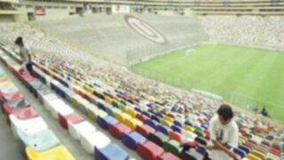 Estadio Monumental quedó inhabilitado hasta octubre del 2012