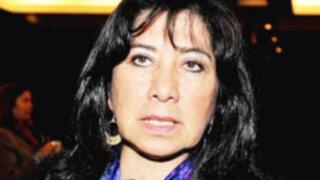 Martha Chávez retorna al Congreso tras suspensión