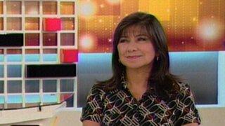 Martha Chávez: Presidente Humala ha vuelto a su primer Plan de Gobierno