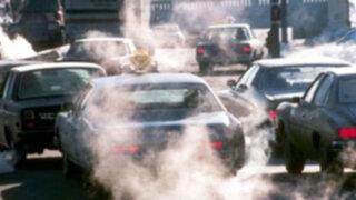 Senamhi plantea emitir alertas por contaminación del aire en Lima