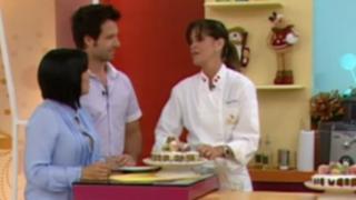 Sandra Plevisani prepara una riquísima torta navideña