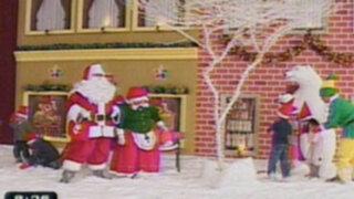 En Independencia se presenta una Blanca Navidad en la ciudad