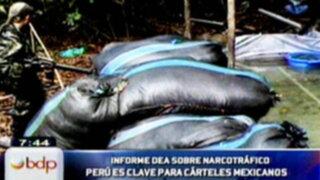 DEA: El Perú es zona clave para cárteles mexicanos