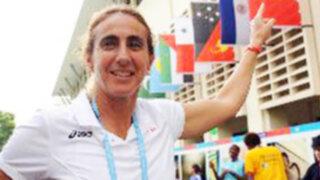 Natalia Málaga podría dirigir la selección de voleibol categoría menores