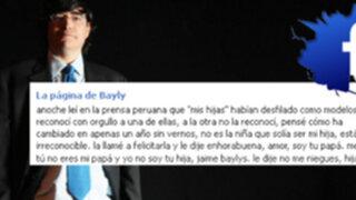 Jaime Bayly: Estoy orgulloso por debut de mi hija Paola como modelo