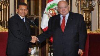 Presidente Ollanta Humala se reunió con secretario general de OEA