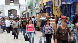 INEI señala que la economía peruana creció 5,12% en octubre